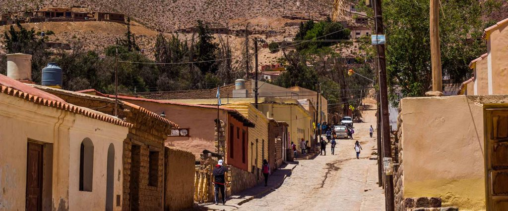 Tilcara City in Jujuy Province – North of Argentina